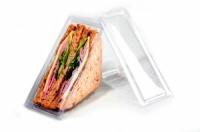 Clear Sandwich Display Wedges (Deep Fill)