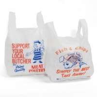 Butcher Vest Carrier Bags