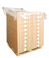 Clear Polythene Pallet Top Covers
