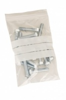 Write-On-Panel Grip Seal Bags