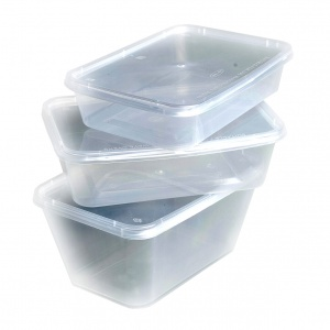 Medium Takeaway Containers with Lid