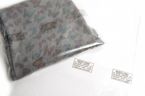 12 x 15 Poly Bags with Printed Warning Notice and Perforations