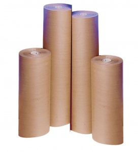 Pure Ribbed Kraft Paper