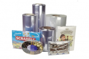 PVC Heat Shrink Film Centre Fold Rolls 400mm