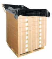 Black Polythene Pallet Top Covers